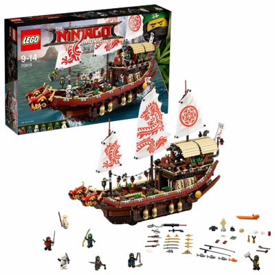 QG des ninjas LEGO NINJAGO boîte