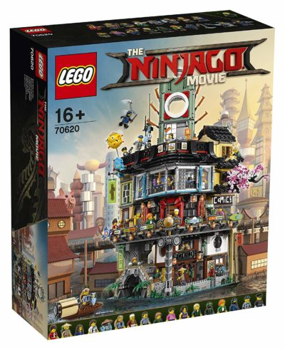 Ninjago town boîte