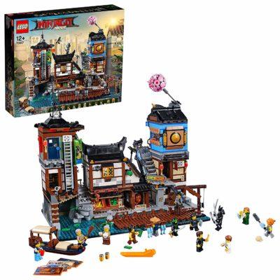 Quais de la Ville LEGO NINJAGO 70657 - Boutique Lego Monsieur Jouet