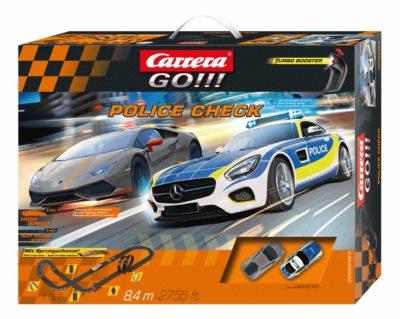 Circuit de Voiture Carrera GO !!! - Police Check Véhicule - Monsieur Jouet