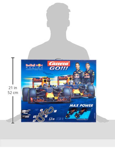 Carrera Go !!! Max Power Formula One taille