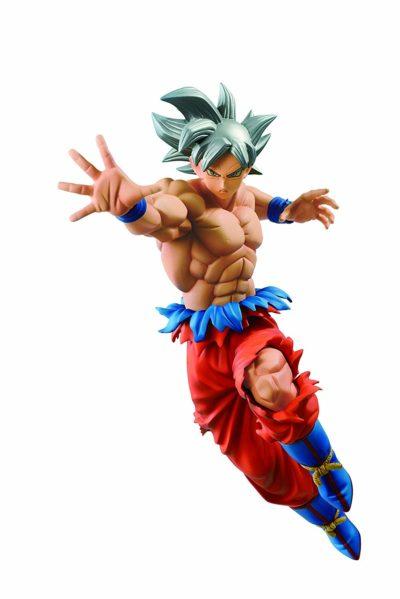 Figurine Son Goku Ultra Instinct Dragon Ball Super Banpresto - Monsieur Jouet