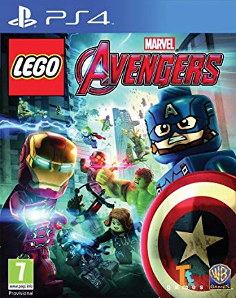 jeu ps4 Lego Avengers
