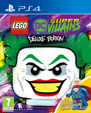 Lego DC Super Villains Deluxe Edition PS4