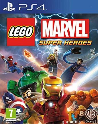 jeu ps4 Lego Marvel super heroes