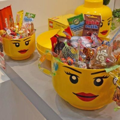 Rangement empilable Lego