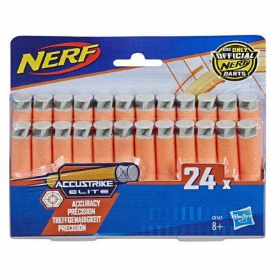Pack de 24 fléchettes Nerf Accustrike