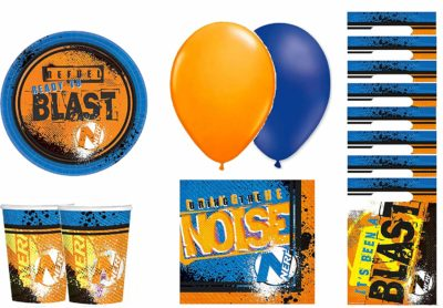 NERF Birthday's Party Kit
