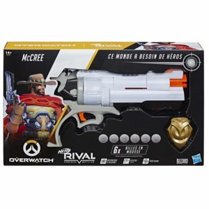 Pistolet Nerf Rival Overwatch McCree billes en mousse - Boutique NERF