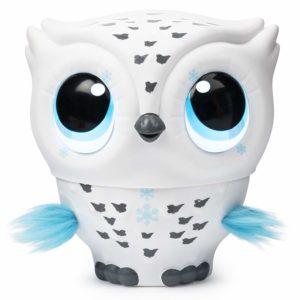 Owleez - Chouette Volante Interactive Blanche jouet