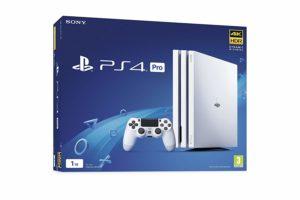 PS4 Pro 1 To - Blanc Glacier
