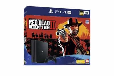 PS4 Pro 1 To - Red Dead Redemption 2