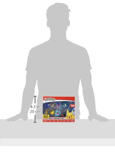Pokémon Battle Figure Multi Pack taille