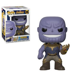 Figurine Funko Pop! N°289 - Avengers Infinity War - Thanos - MARVEL