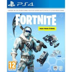 Fortnite Pack Froid Eternel PS4