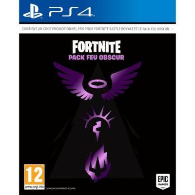 Fortnite Pack Feu Obscur PS4