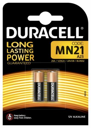 Duracell Long Lasting Power - Piles Alcalines MN21 (12 V x 2)