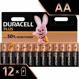 Duracell Simply – Piles Alcaline (AA x 12)