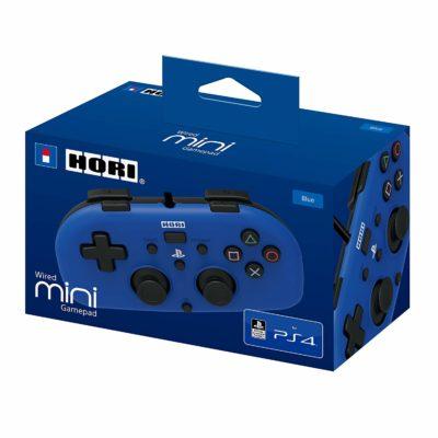 Hori - Wired Mini Gamepad PS4 (Bleu)