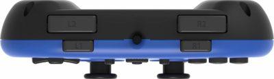 Hori - Wired Mini Gamepad PS4 (Bleu) haut