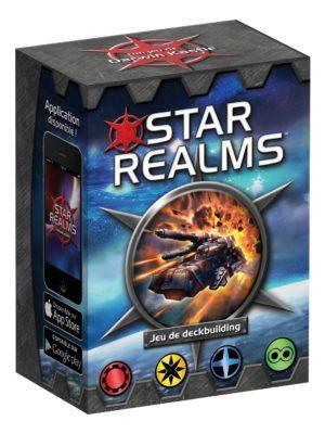 Iello - Star Realms (Version Française) Jeu de Deckbuilding boîte