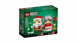 Lego BrickHeadz - Mr & Mrs Claus (Père et Mère Noël) boîte