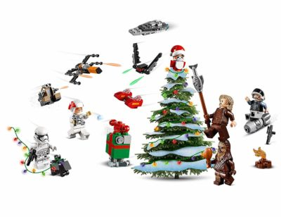 Lego - Calendrier de l'Avent Star Wars 2019 Compte à Rebours de Noël sapin