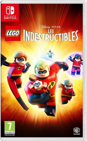 Lego Disney Pixar Les Indestructibles Nintendo Switch