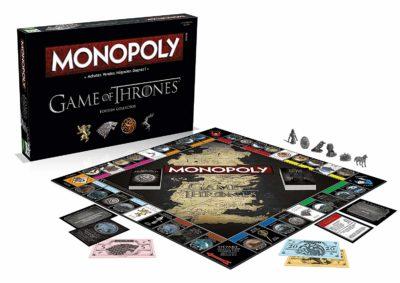 Monopoly Game of Thrones - Jeu de Société