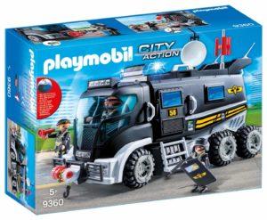 Playmobil City Action - Camion de police policiers d'élite