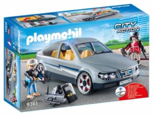 Playmobil City Action - Voiture banalisée avec policiers en Civil