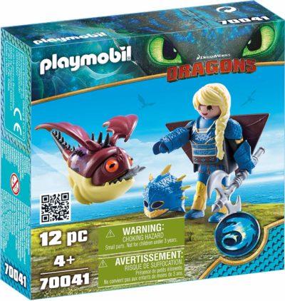 Playmobil Dragons - Astrid avec Globegobeur