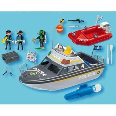 Playmobil - Vedette De Police accessoires