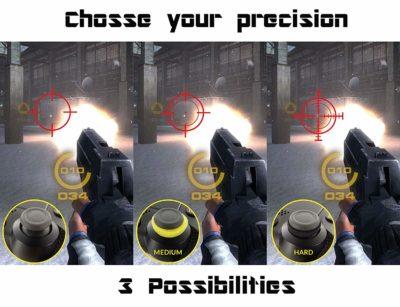 Subsonic - Kit e-sport pour manette gâchettes PS4 (Slim Pro) précision