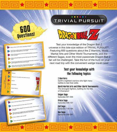 USAopoly - Trivial Pursuit Dragon Ball Z Jeu de Société dos