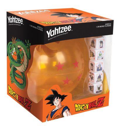 USAopoly - Yahtzee Dragon Ball Z Jeu de Société