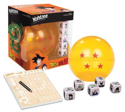 USAopoly - Yahtzee Dragon Ball Z Jeu de Société boîte