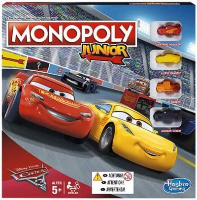 Monopoly Junior Cars