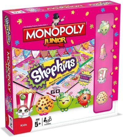 Monopoly Junior Shopkins Wersja Angielska