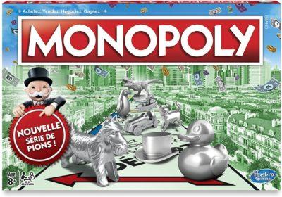 Monopoly classique nouveaux Pions