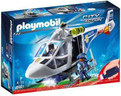 Hélicoptère de Police Playmobil