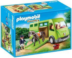 Playmobil Country Cavalier avec Van et Cheval