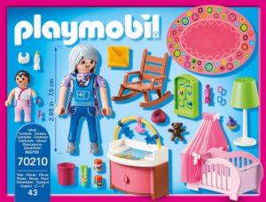 Playmobil Dolhouse chambre de bébé