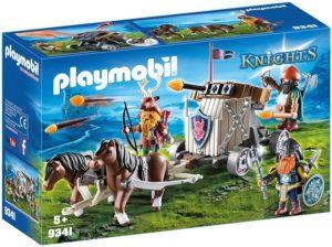 Playmobil Knights Char de combat avec baliste et nains