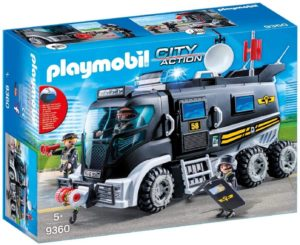 Playmobil City Action Camion Policier