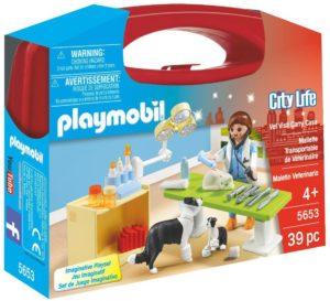 Playmobil valisette veterinaire
