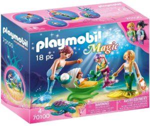 Playmoibil Magic famille sirène