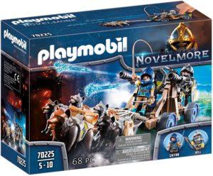 Playmobil - Chevaliers Novelmore avec Canon et Loups