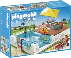 Playmobil City Life Jeu De Construction Piscine Avec Terrasse