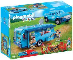 Playmobil Familly Fun - Fun Park Pick up et Caravane